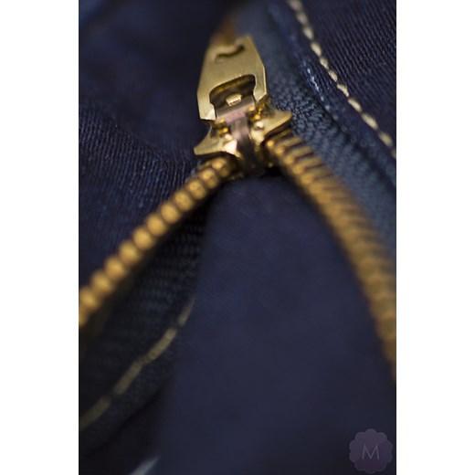 f334d4e177b8cc ... czarny prosty; Spodnie jeansy damskie prosta nogawka z wyższym stanem  granatowe mercerie-pl brazowy Spodnie ...