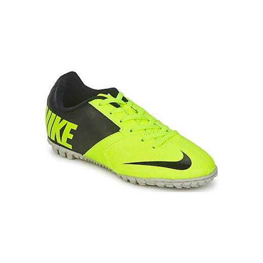 new product 7e1c6 9717d Nike Buty do piłki nożnej Dziecko JR BOMBA II spartoo zielony chłopięce