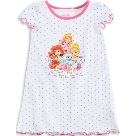 ed190b597c9c3a Cool Club, Koszula nocna dziewczęca, Księżniczki Disneya, rozmiar 122 -  Wyprzedaż ubrania i buty nawet do -50% taniej! smyk-com bialy Disney w  Domodi