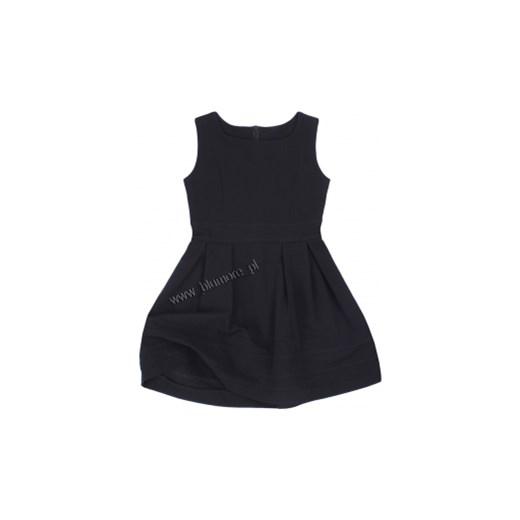 e8428ab3be ... Czarna sukienka wizytowa dla dziewczynki 110 - 152 Wiki blumore-pl  czarny klasyczny ...