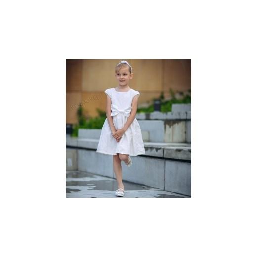 f90734b1c0 ... Śliczna sukienka na wesele dla dziewczynki 74 - 158 Laura blumore-pl  brazowy dziecięce