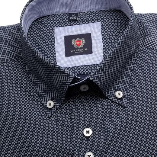a1ad98a189ed41 Koszula London (wzrost 176-182) willsoor-sklep-internetowy niebieski koszule