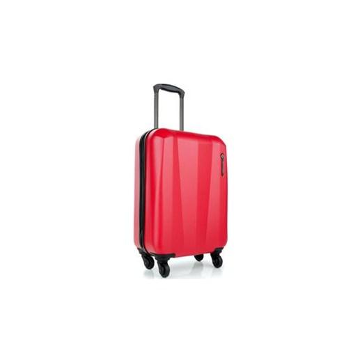 63b54db71980e Wittchen Tech Line mała walizka czerwona royal-point pomaranczowy  jednoplaczaste