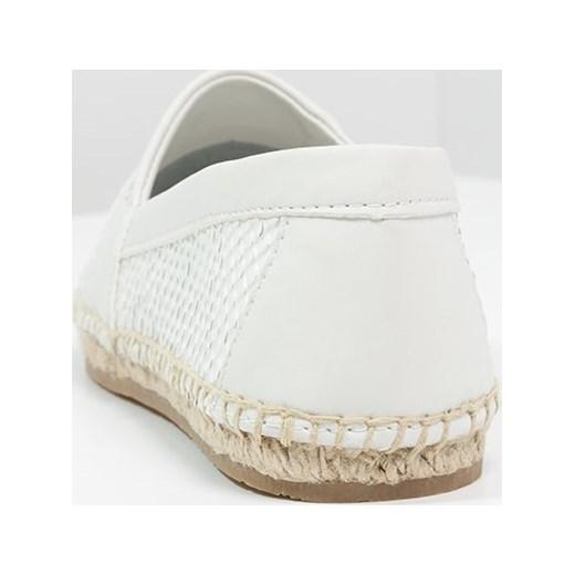 Calvin Klein Jeans GAEL Espadryle white matt zalando brazowy