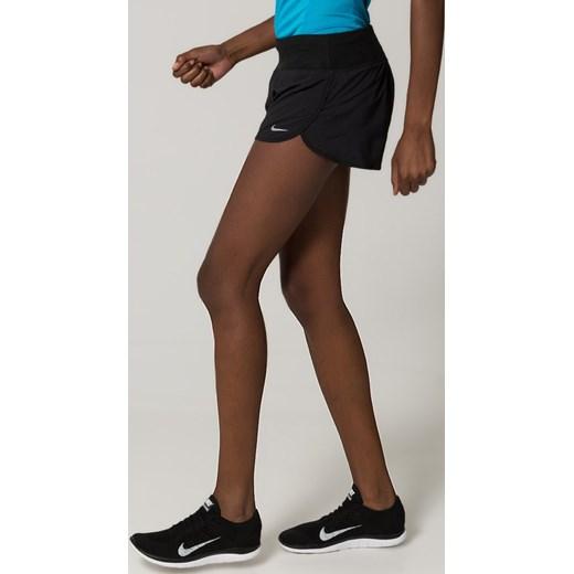2fcc27205a2a ... Nike Performance RIVAL Krótkie spodenki sportowe black reflective  silver zalando bialy elastan ...