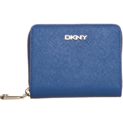 05c82bf5280b7 DKNY BRYANT PARK Portfel blue zalando niebieski podszewka w Domodi