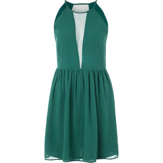 2f1a33c47d Even Odd Sukienka koktajlowa green zalando niebieski na imprezę w Domodi