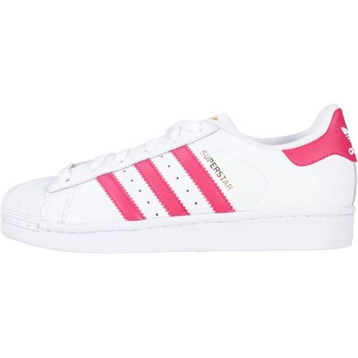adidas Originals SUPERSTAR FOUNDATION Tenisówki i Trampki whitebold pink zalando materiałowe
