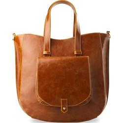2b21fb256743a Brązowe torebki damskie world-style.pl do ręki