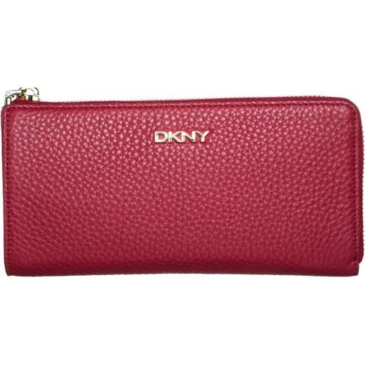 84bc51897297a DKNY TRIBECA Portfel red zalando czerwony abstrakcyjne wzory w Domodi