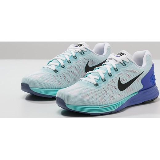 newest f03b7 c2438 Nike Performance LUNARGLIDE 6 Obuwie do biegania Amortyzacja  whiteblackpersian violetlight ... Nike LunarGlide 6 Ladies Running Shoes -  White ...