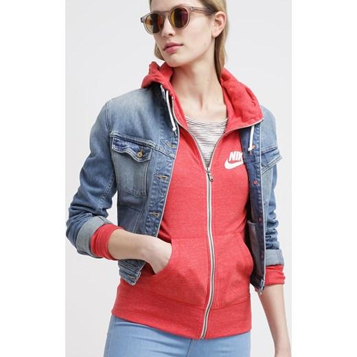 fd95c2f00 ... Nike Sportswear GYM Bluza rozpinana daring red zalando rozowy kaptur ...