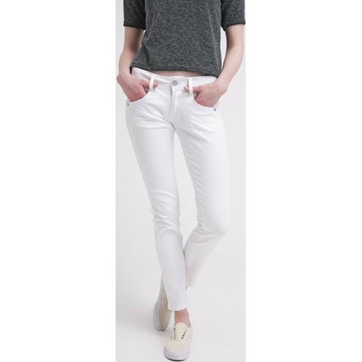 herrlicher gila jeansy slim fit white zalando abstrakcyjne. Black Bedroom Furniture Sets. Home Design Ideas