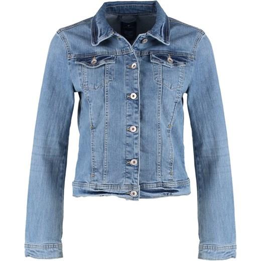 5d33f7eb10852 Tom Tailor Kurtka jeansowa super stone blue denim zalando bawełna w ...