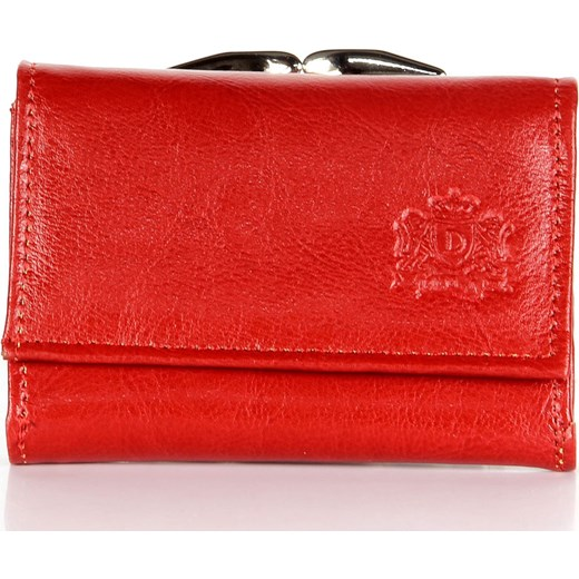 613a20946dff P147 czerwona skórzana portmonetka damska skorzana-com naturalne w ...