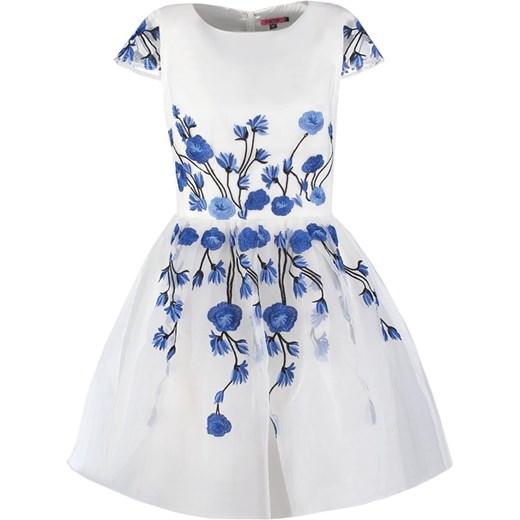 c5c1fe5310 Chi Chi London Sukienka koktajlowa whiteblue zalando abstrakcyjne wzory ...