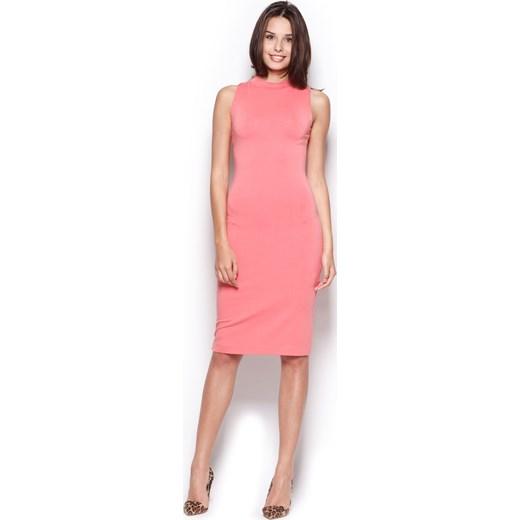 700e4002bd Sukienka z półgolfem w 3 kolorach onemarket-pl mat w Domodi