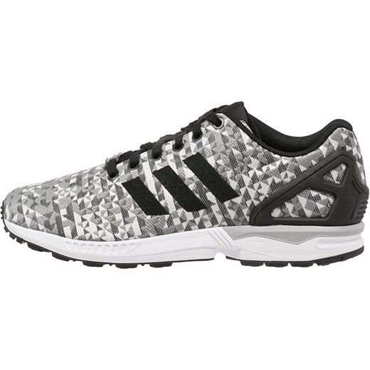 new product f34ef c5829 ... ireland adidas originals zx flux weave tenisówki i trampki white core  black solid grey zalando 76a59