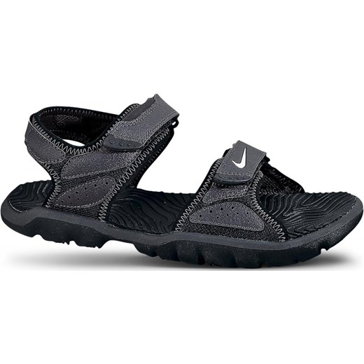 d196f544 Sandały Nike Santiam 5 (gs) czarne 344631-011 szary nstyle.pl w Domodi