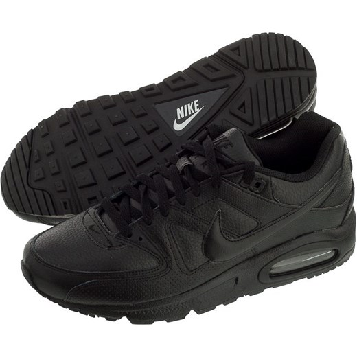 sports shoes 7bc0f c8d17 Buty Nike Air Max Command Leather (NI414-e) butsklep-pl czarny skóra