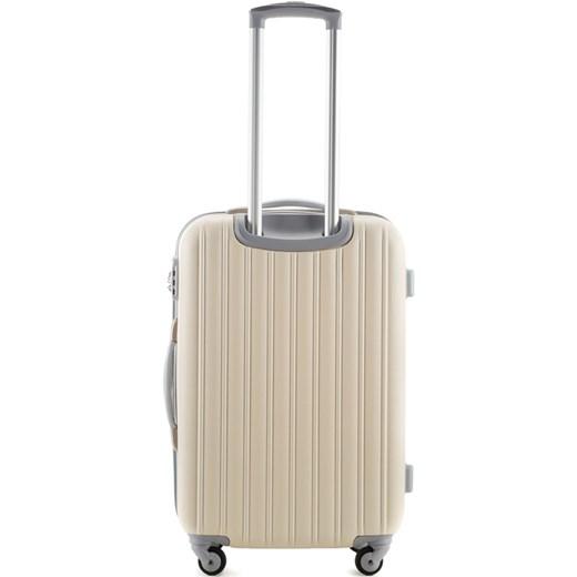 3b9a00e7ddac1 ... Walizki na kółkach; 56-3-64X-85 Komplet walizek na kółkach wittchen  brazowy z zamkiem ...