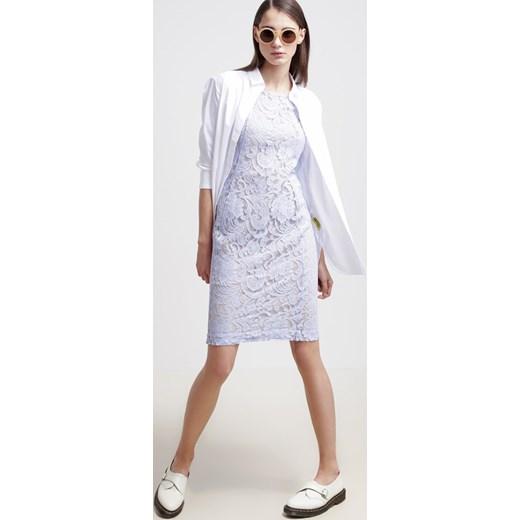 ab092be3b2 InWear PATRICE Sukienka etui light sky zalando niebieski bez wzorów ...