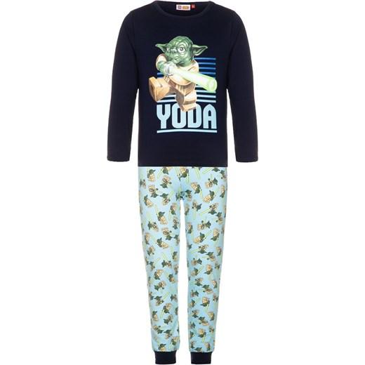 LEGO Wear STAR WARS NICOLAI Piżama blue zalando czarny bawełna