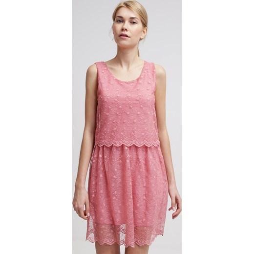 1f00f6a29a Anna Field Sukienka letnia pink zalando rozowy abstrakcyjne wzory w ...