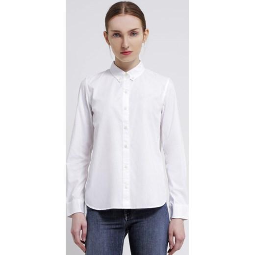 GAP Koszula optic white zalando bialy abstrakcyjne wzory w  lPDlO