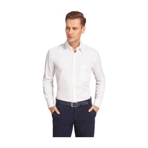 c9e4a4ef21f43 Biała koszula męska Wólczanka wolczanka bialy w Domodi