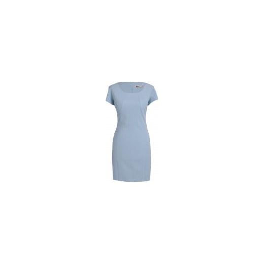 a4fd7ca369 Sukienka BOONE SPJ niebieski Sukienki na wesele w Domodi