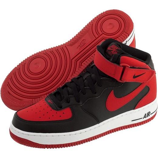 new arrival 1a2fa a9424 Buty Nike AIR Force 1 Mid 07 (NI539-c) butsklep-pl czerwony