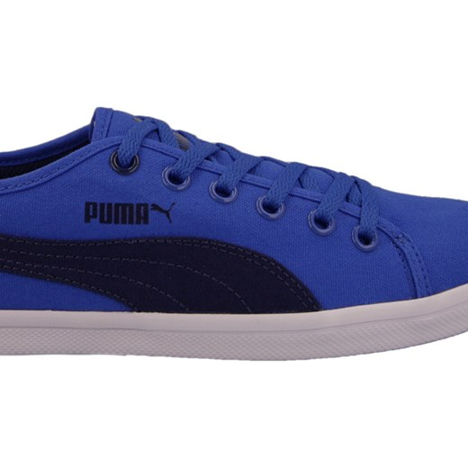 BUTY PUMA ELSU F CANVAS JR 358038 02 yessport pl niebieski