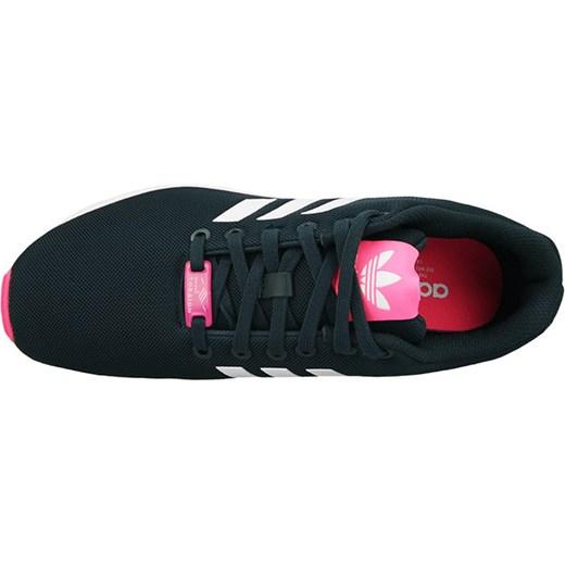 adidas zx flux damskie granatowo różowe
