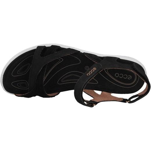 sandały ecco damskie czarne