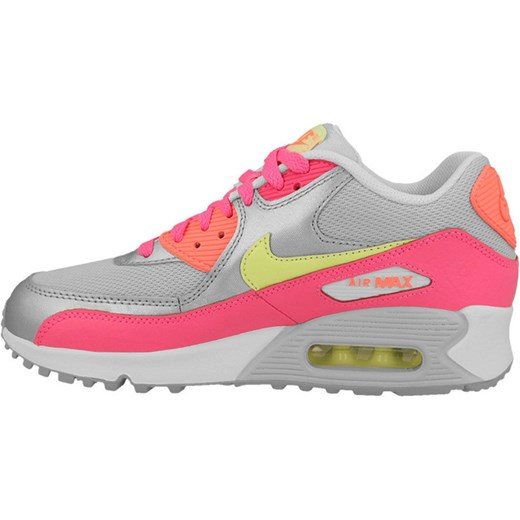cheap for discount 9dbe6 65914 ... BUTY NIKE AIR MAX 90 MESH (GS) 724855 001 sneakerstudio-pl szary skóra  ...