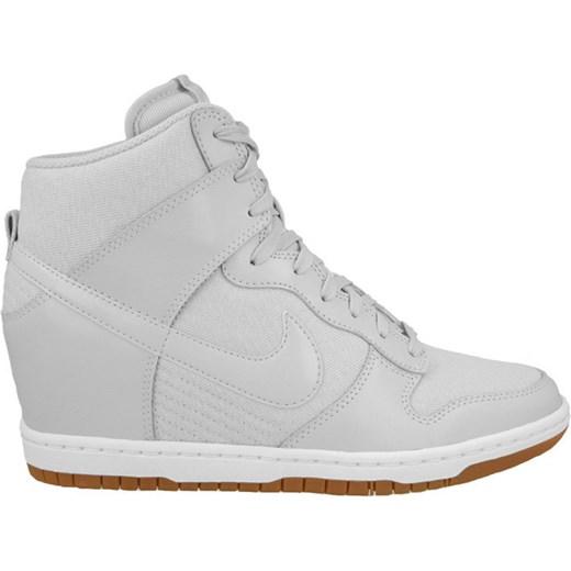 brand new a9ed1 df462 ... BUTY NIKE DUNK SKY HI ESSENTIAL 644877 002 sneakerstudio-pl szary skóra  ...
