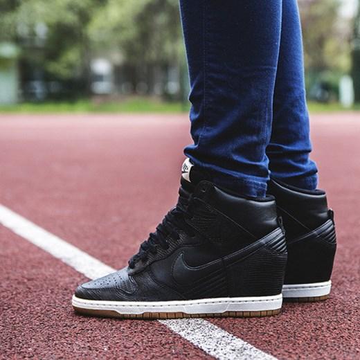 buy online 9ed08 575af BUTY NIKE WMNS DUNK SKY HI 528899 012 sneakerstudio-pl czarny na koturnie  ...