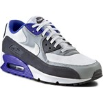 Sneakersy NIKE - Air Max 90 Essential 537384 122 White/Silver/Dark Grey