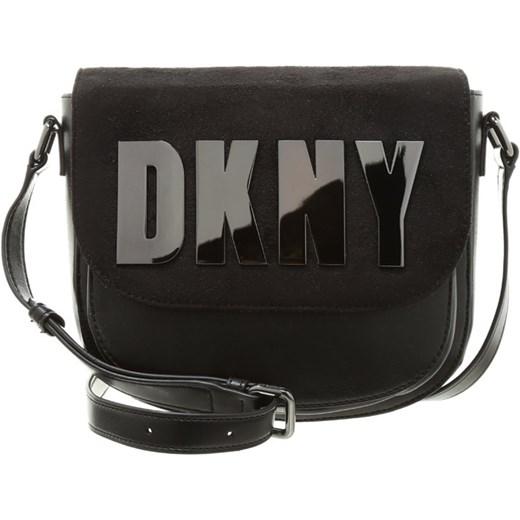 ff3aafd659f71 DKNY ACTIVE Torba na ramię black zalando czarny abstrakcyjne wzory w ...