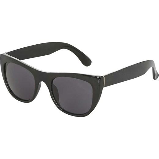 Aggressive Wayfarer Sunglasses topshop bialy Okulary damskie