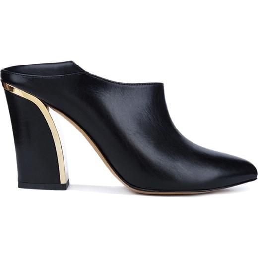 94d58a2e6e485 Buty - Gino Rossi - Botinka Verona answear-com czarny Botki skórzane ...