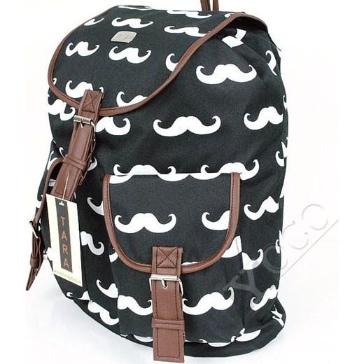 720f75b0fa598 ... abstrakcyjne wzory; Polski Plecak Vintage TARA Plecaki Mustache Wąsy  yoco-pl szary duży ...