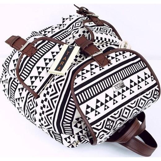 80ea7c91595fe ... Polski Plecak Szkolny Vintage Plecaki AZTEC T01 yoco-pl szary  abstrakcyjne wzory ...