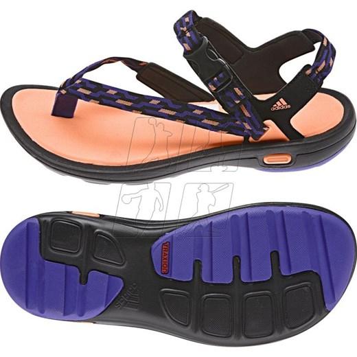 1745b881 Sandały adidas Libria Sandal W B44198 hurtowniasportowa_net fioletowy w  Domodi