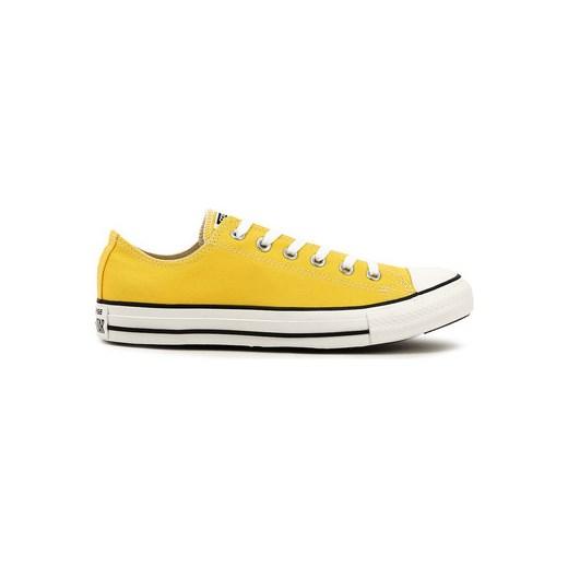 0419b4b3ca4a0 Converse Buty Chuck Taylor All Star Ct Ox - Żółte Canvasowe Trampki Unisex  - 1 Converse