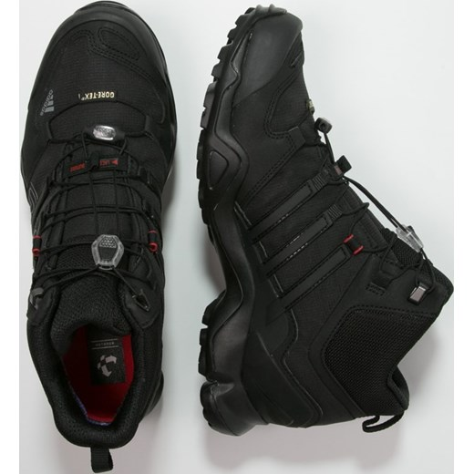 e4782bc3946b1 adidas Performance TERREX SWIFT R MID GTX Buty trekkingowe core black vista  grey power ...