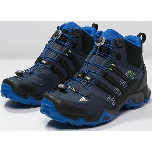 20a1ea25ba4a1 ... adidas Performance TERREX SWIFT R MID GTX Buty trekkingowe midnight  grey core black blue ...