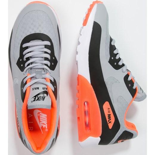 Nike Sportswear AIR MAX 90 ULTRA BR Tenisówki i Trampki wolf greyblackhyper orangewhite zalando casual