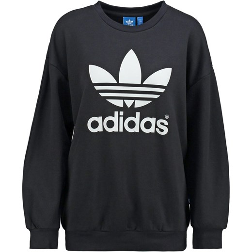 adidas Originals Bluza black zalando czarny bawełna